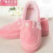 孕妇秋冬软底平底拖鞋产妇加厚防滑型