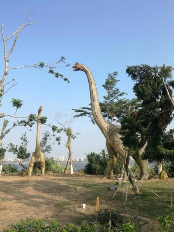抢购65元|厦门园博苑上演恐龙闹新春!亲子军驰骋恐龙群,一同在侏罗纪公园里与远古生物同行~