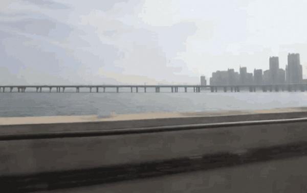 羡慕之极丨千与千寻里的海上列车竟然真的有,厦门人民有福了~