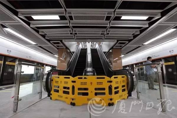 交通要闻丨厦门地铁1号线首次开放市民体验,站点内部最新曝光!