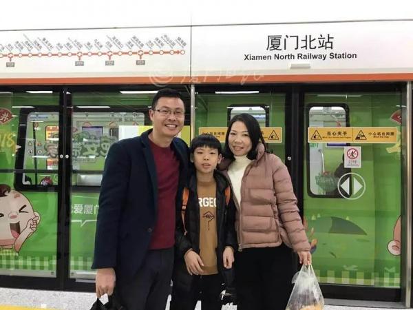 央视直播地铁1号线开通,盛赞学村站海景!集美人今天圆了地铁梦~